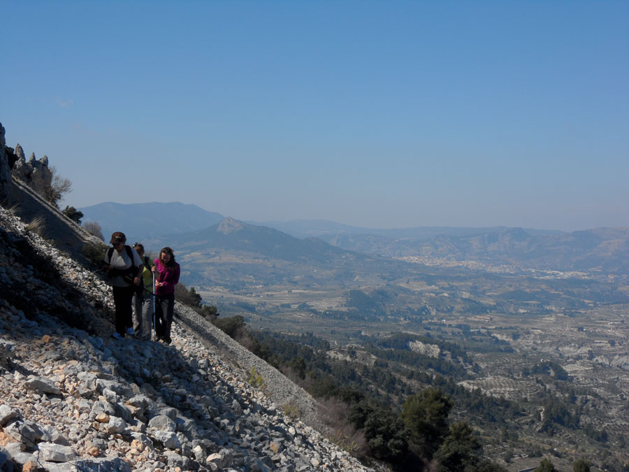 Walking holidays on the Costa Blanca